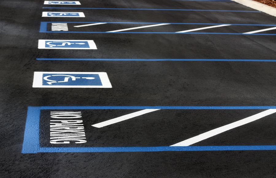 Guidelines for ADA Parking Lot Striping