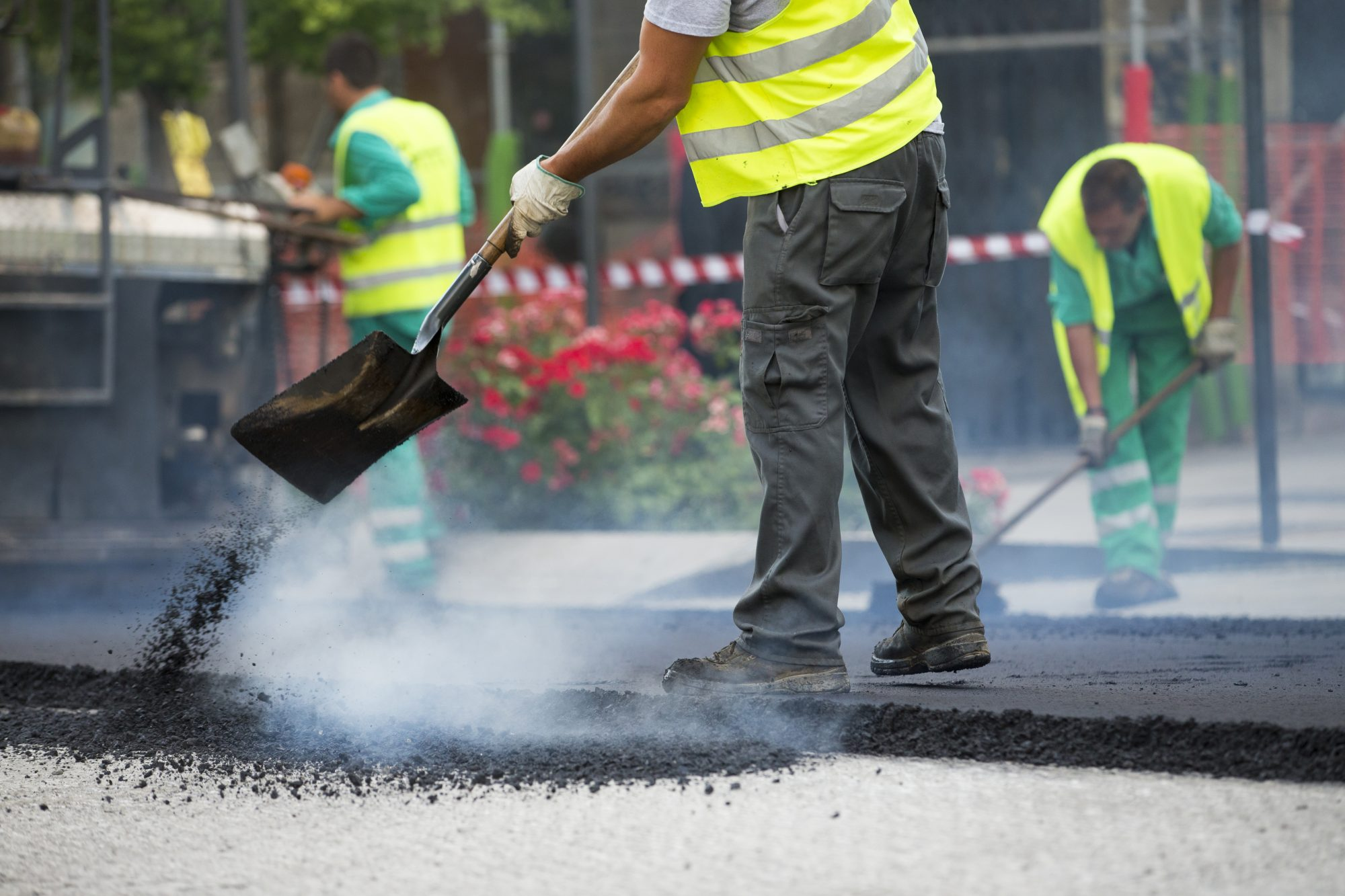 Closing Your Parking Lot During an Asphalt Paving Job
