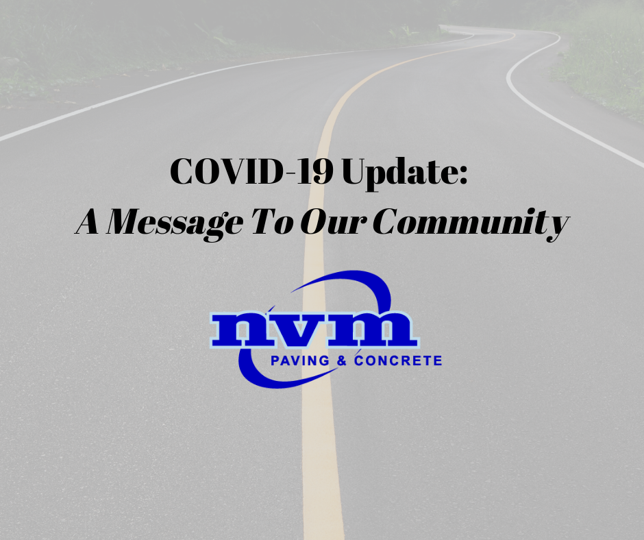 COVID-19 Update: A Message to Our Community