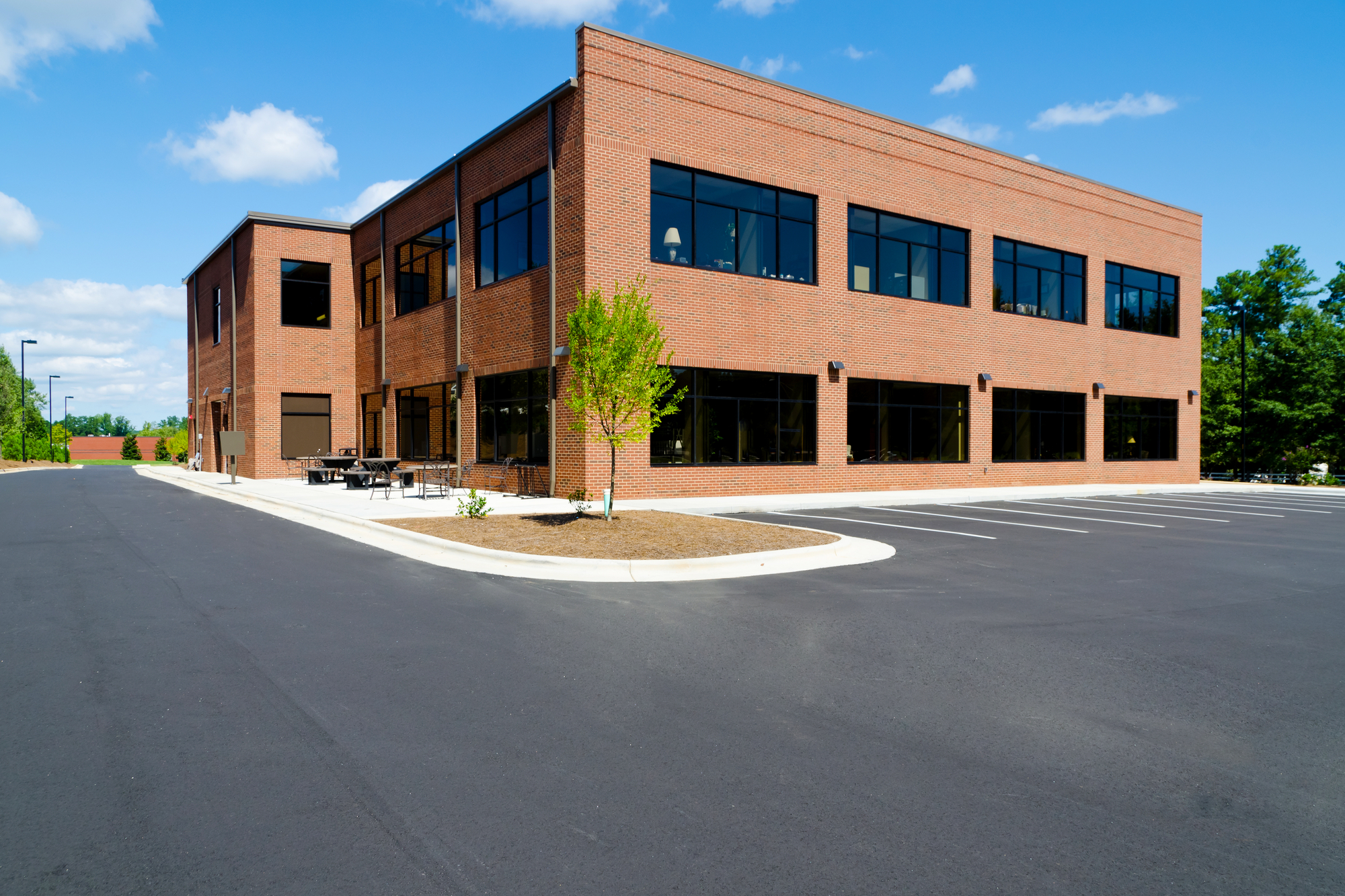 How a Beautiful Parking Lot Enhances the Value of a Commercial Property