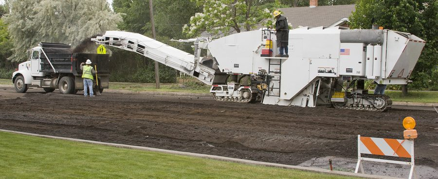 Asphalt Milling 101: What Is the Process?