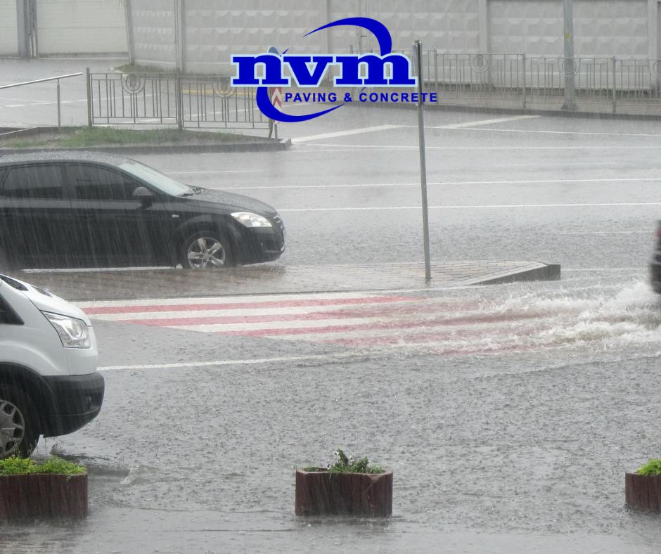 Heavy Rain? Keep an Eye on Your Asphalt