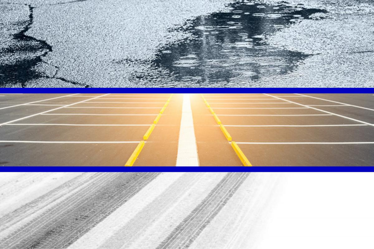 weathers affect on asphalt